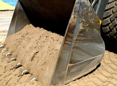 Песок под фундамент