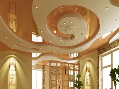 Фото: Преимущества подвесного потолка из гипсокартона